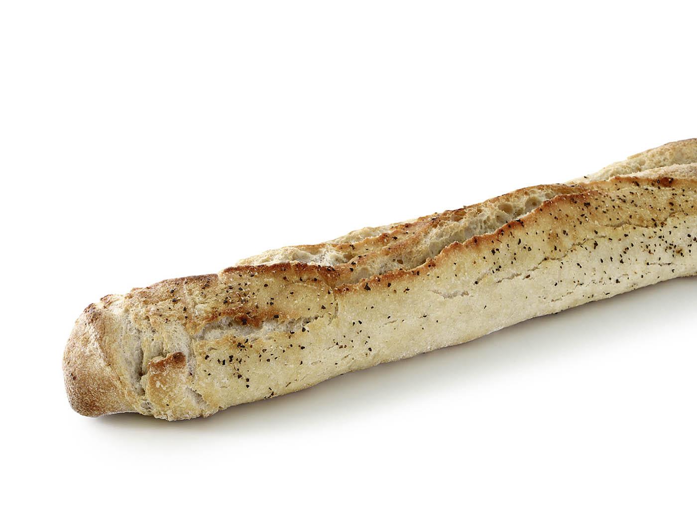 2429 Baguette pimienta, masa madre