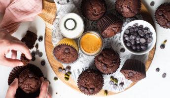 muffins-con-arandanos-chocolate
