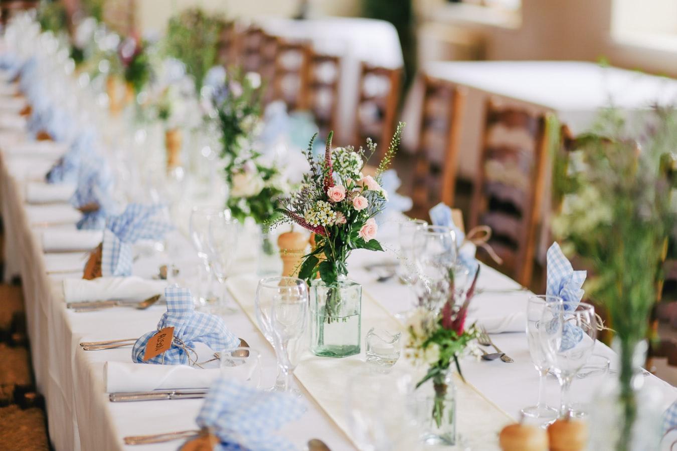 Pan mesa de boda