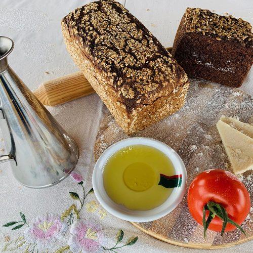 Saludable y delicioso pan